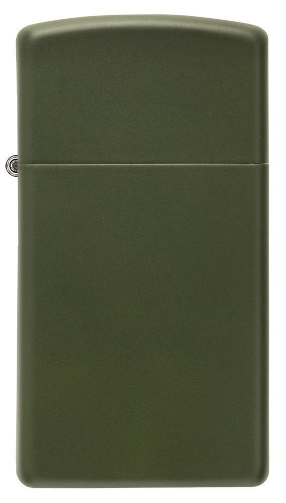 Zippo 1627 Slim Green Matte