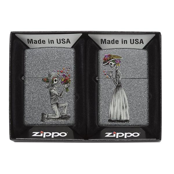 Zippo 28987 Iron Stone Couple