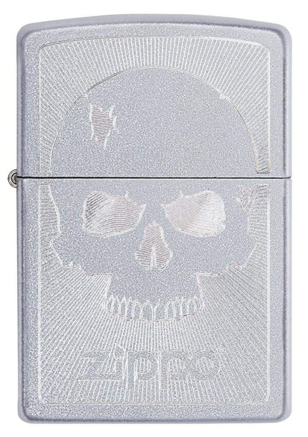 Zippo 29858 Skull With Lines