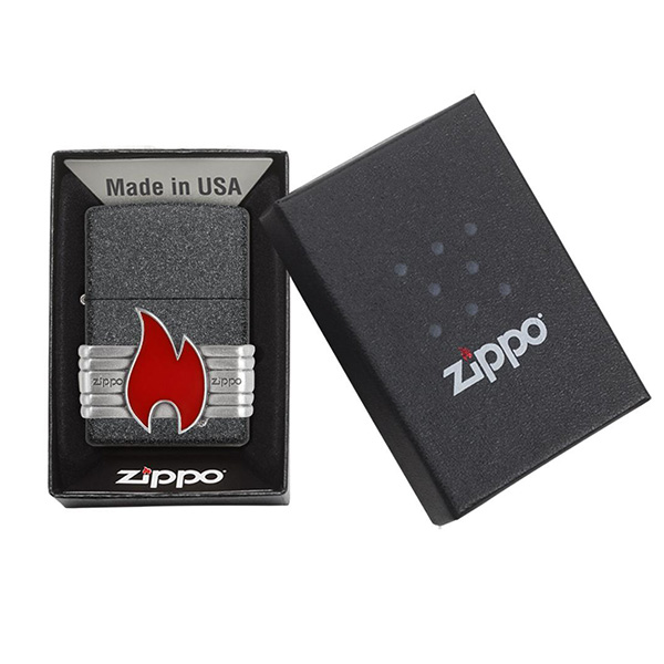 Zippo 29663 Zippo Red Vintage Wrap