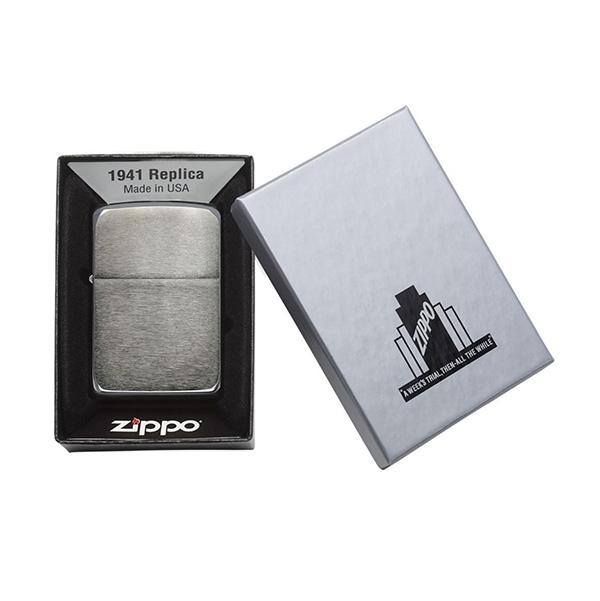 Zippo 24096 Black Ice 1941 Replica