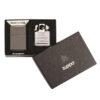 Zippo 29789 Black Ice Lighter & Pipe Insert