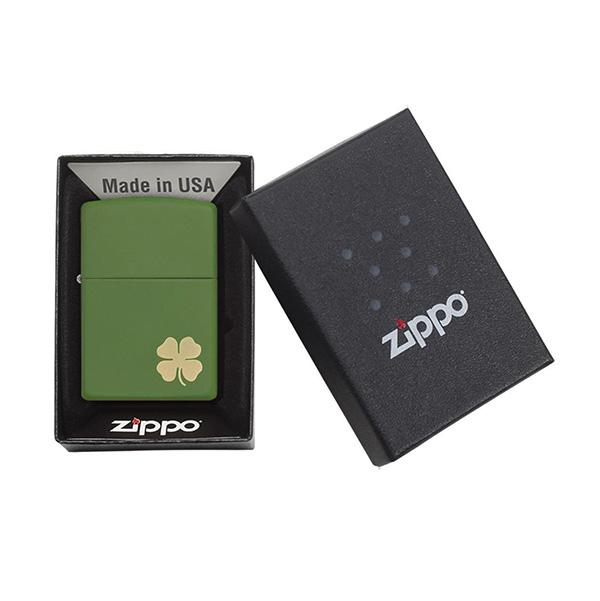 Zippo 21032 Matte Clover