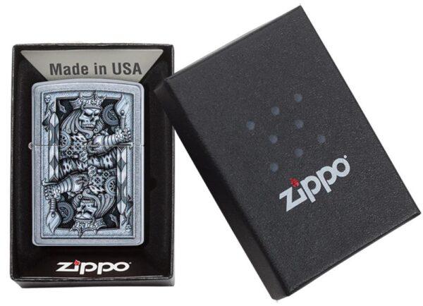 Zippo 29877 Steampunk King Spade