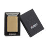 Zippo 204 Brushed Solid Brass