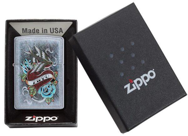Zippo 29874 Vintage Tattoo Zippo