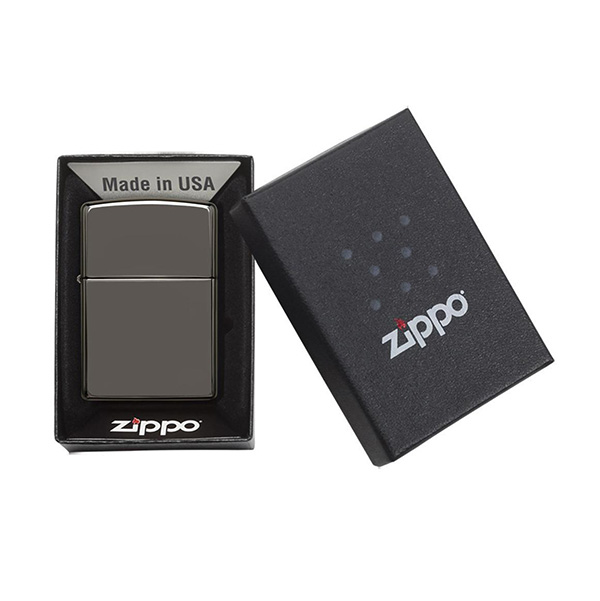 Zippo 150 Classic Black Ice