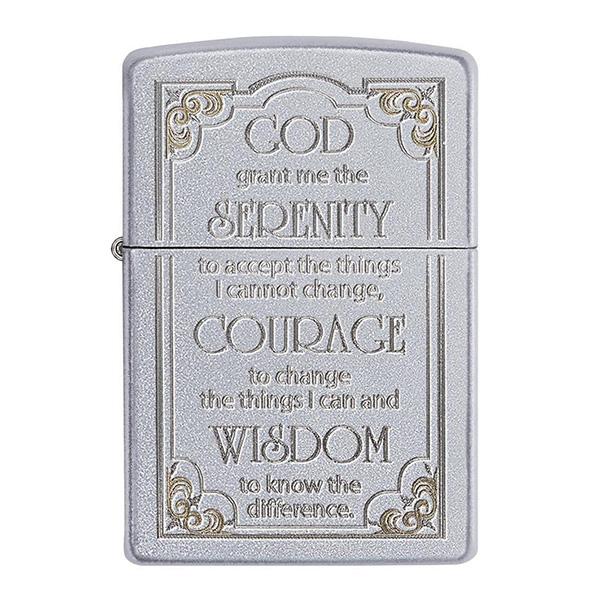 Zippo 28458 Serenity Prayer
