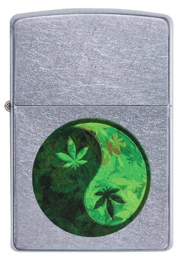 Zippo 207-059107 Yin Yang Marijuana Design