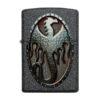 Zippo 49072 Metal Dragon Shield Design