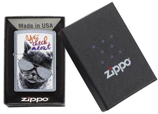 Zippo 29619 Cat with Glasses