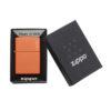 Zippo 231ZL Orange Matte with Zippo Logo