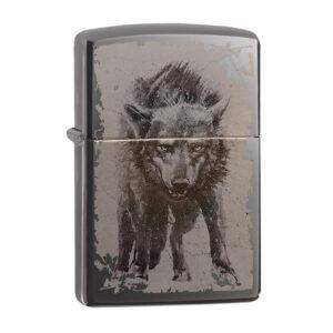 Zippo 49073 Wolf Design