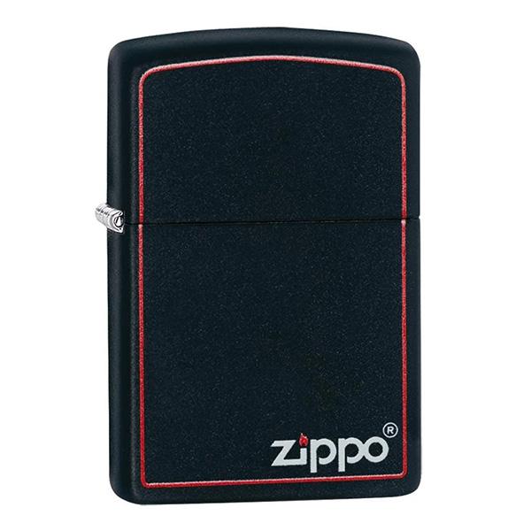 Zippo 218ZB Classic Black and Red Zippo