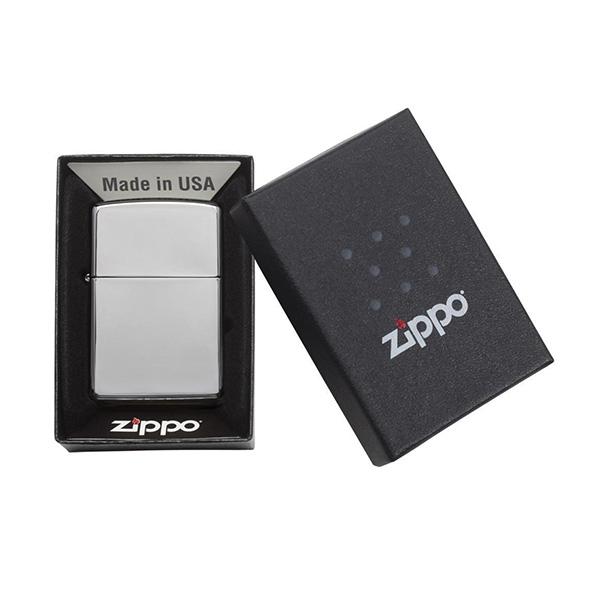 Zippo 250 Classic High Polish Chrome