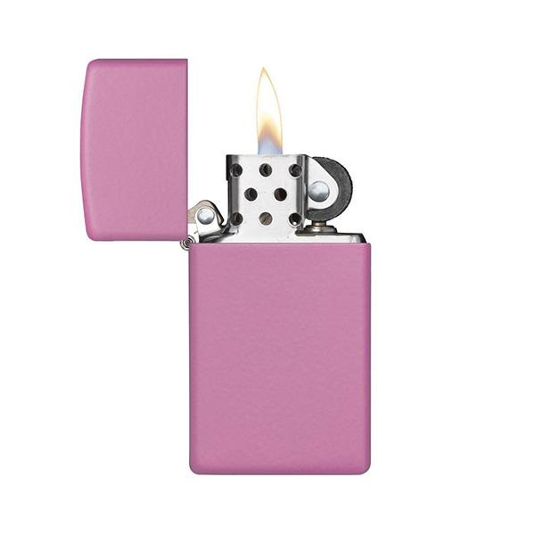 Zippo 1638 Slim Pink Matte
