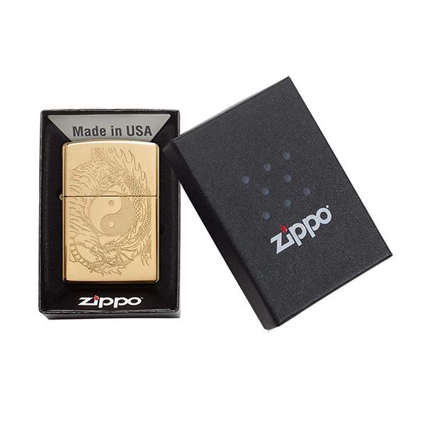 Zippo 49024 Tiger and Dragon Design