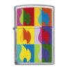 Zippo 29623 Abstract Flame Design