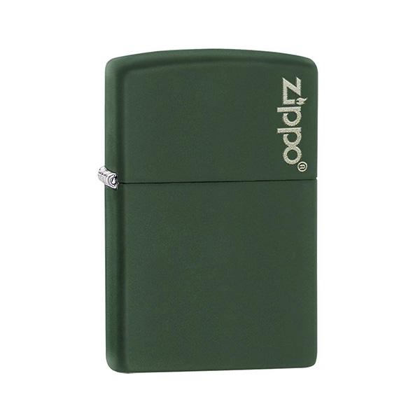Zippo 221ZL Green Matte with Zippo Logo