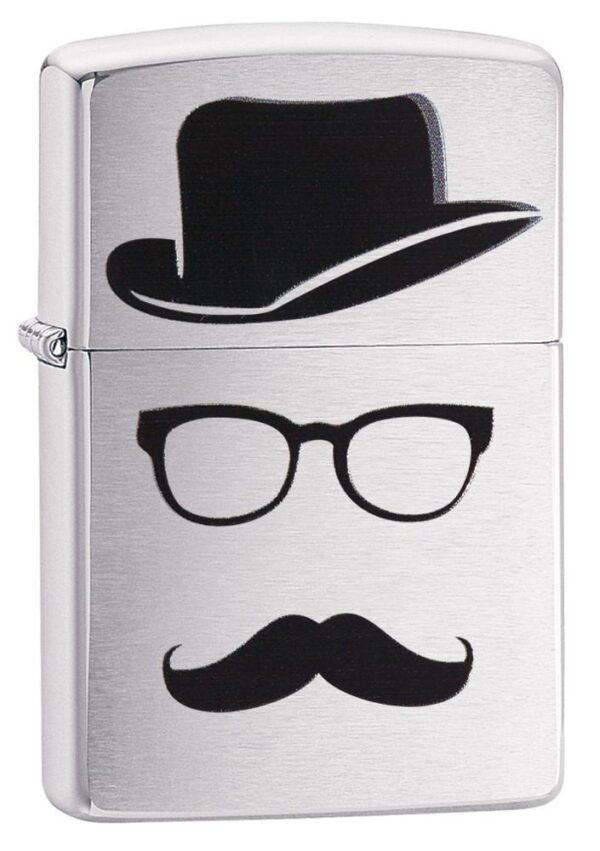 Zippo 28648 Mustache and Hat