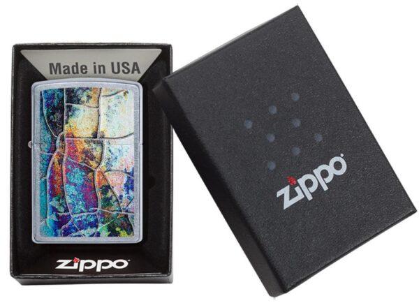 Zippo 29897 Rust Patina Design