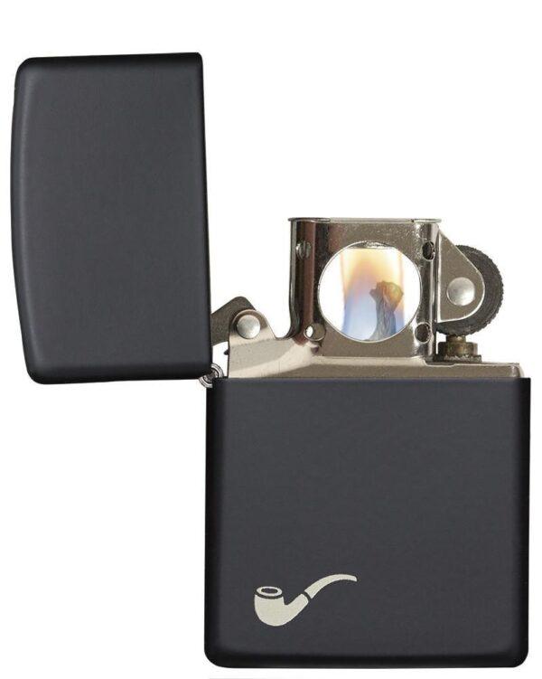Zippo 218PL Pipe Black Matte