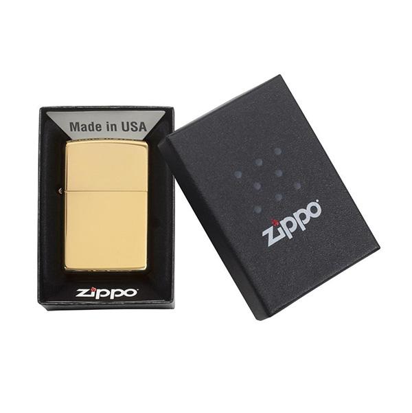 Zippo 254B Classic High Polish Brass