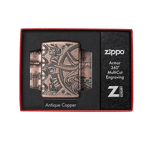 Zippo 49000 Nautical Scene Design