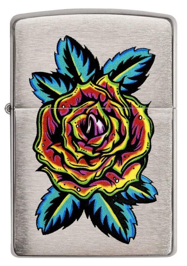Zippo 29399 Flower Tattoo