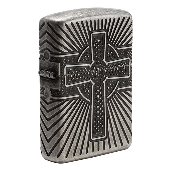 Zippo 29667 Armor Celtic Cross Design