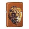 Zippo 29865 Polygonal Lion Design