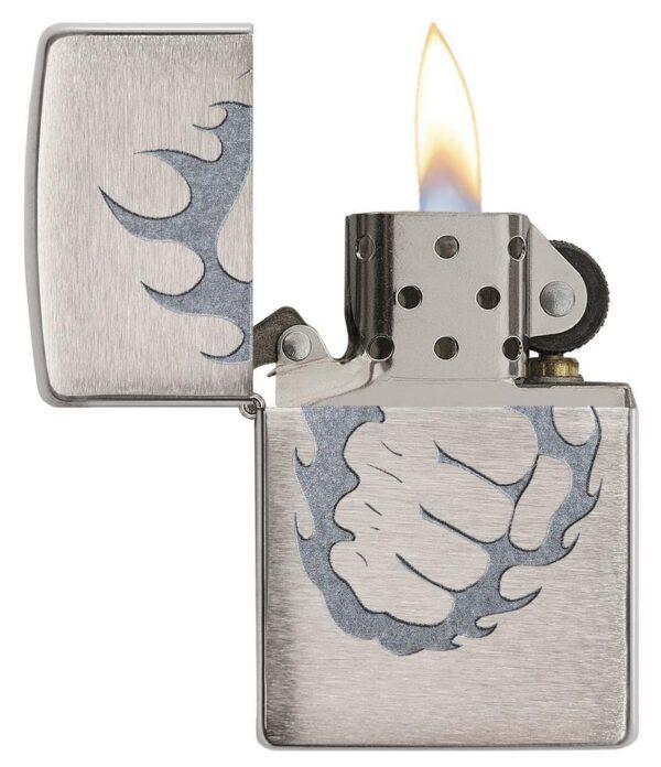 Zippo 29428 Tattoo Fire & Fist