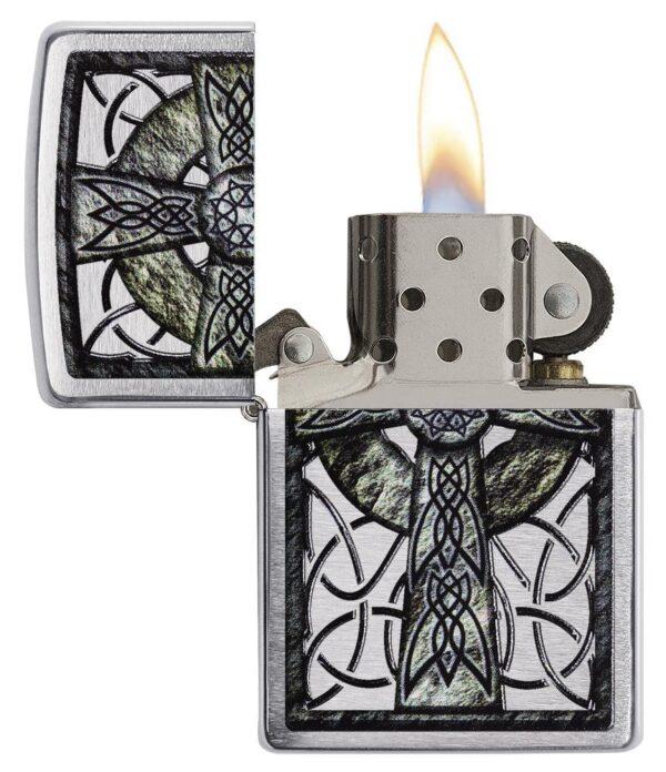 Zippo 29622 Celtic Cross Design