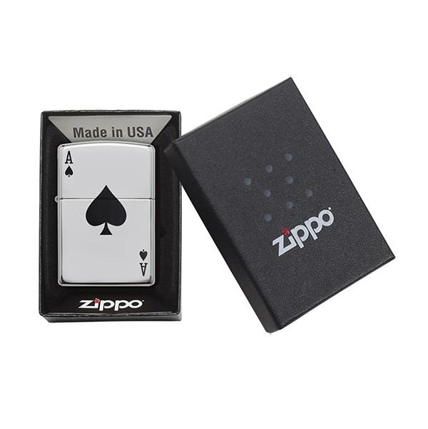 Zippo 24011 Simple Spade Design