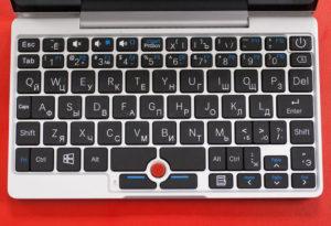 GPD Pocket гравировка клавиатуры