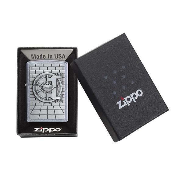 Zippo 29555 Safe with Gold Cash Surprise