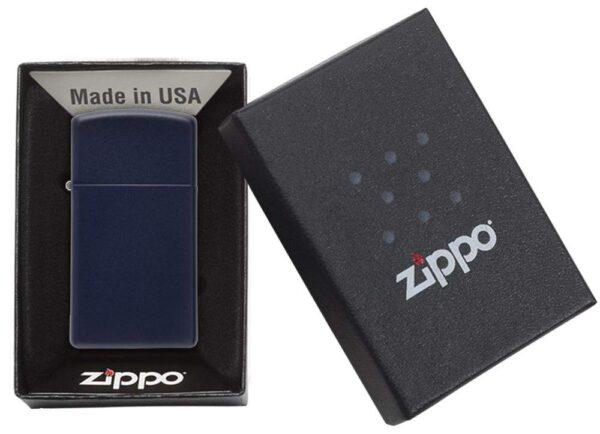 Zippo 1639 Slim Navy Matte