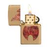 Zippo 29878 Rusty Flame Design