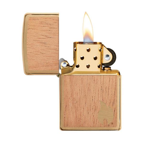 Zippo 29901 WOODCHUCK USA Flame