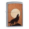 Zippo 49043 WOODCHUCK USA Howling Wolf