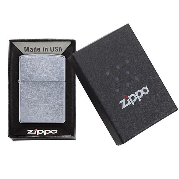 Zippo 207 Classic Street Chrome