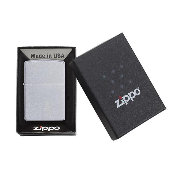 Zippo 205 Classic Satin Chrome