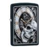 Zippo 29854 Skull Clock Design