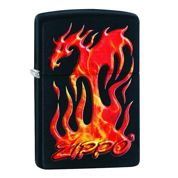 Zippo 29735 Zippo Flaming Dragon Design