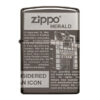 Zippo 49049 Zippo Newsprint Design