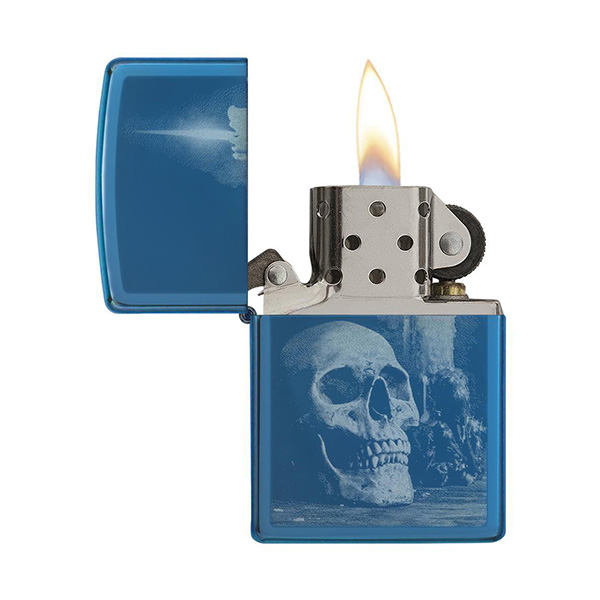 Zippo 29704 Skull Design