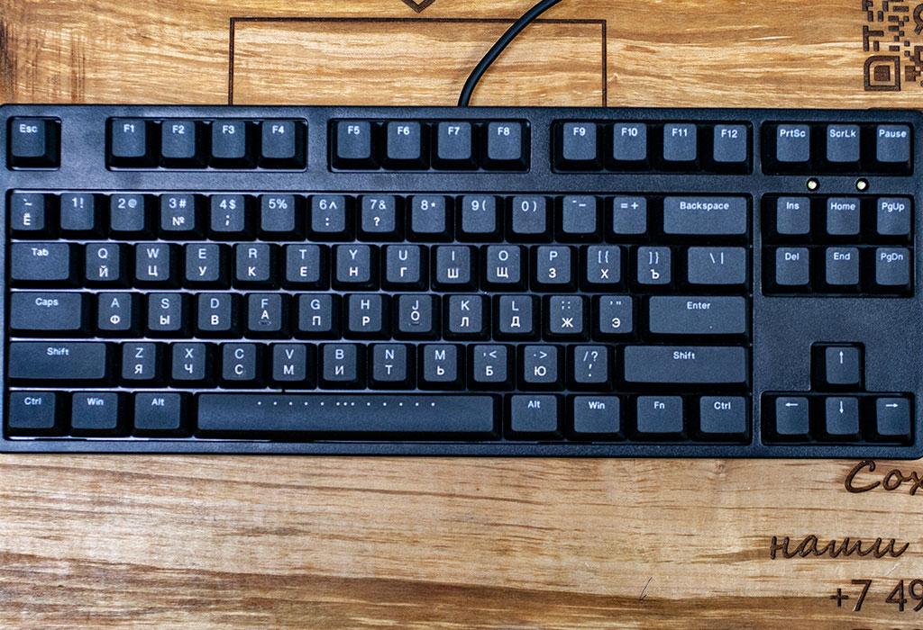 Гравировка механической клавиатуры
